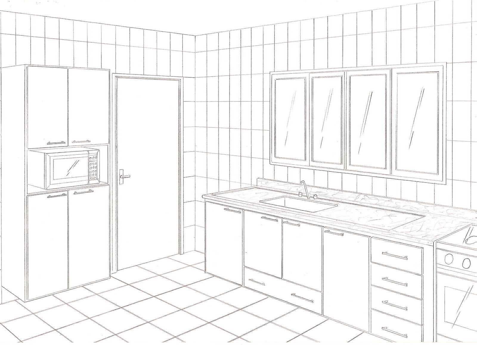 Designer de Cozinhas e Móveis planejados: Projetos à mão x projetos  #6B6060 1600 1159