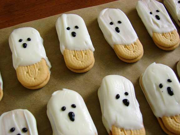 Boooooooo for Halloween food ideas for preschoolers