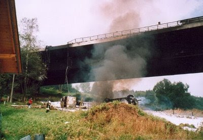 Amazing Top 10 Most Expensive Accidents in History Tanker-Truck-vs-Bridge