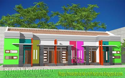 gambar arsitektur rumah on Inspirasiku - Arsitektur: Rumah Kontrakan Belitung