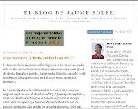 El Blog de Jaume Soler