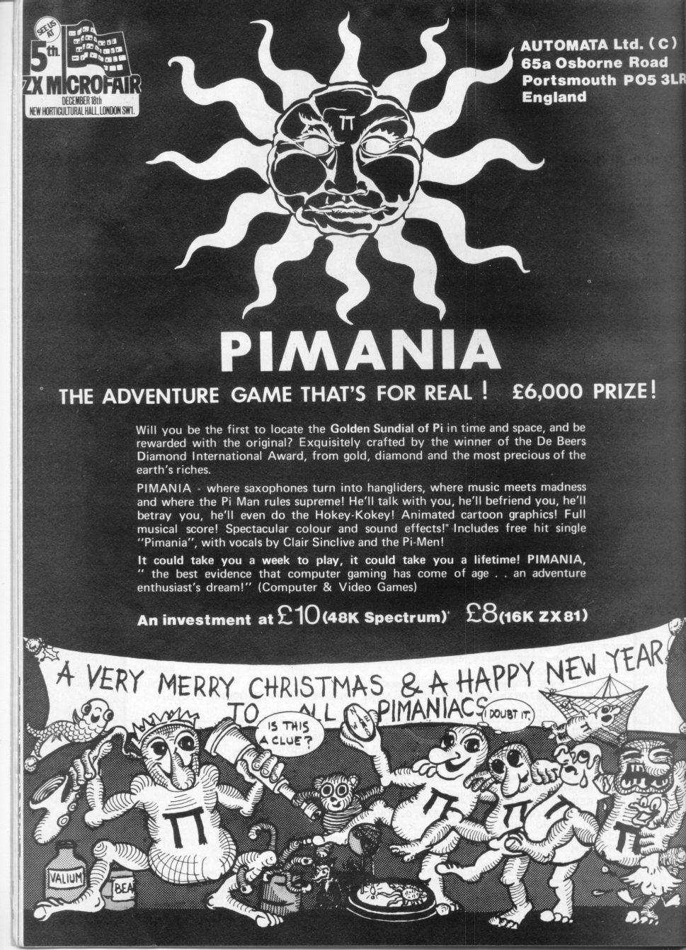 Mel Croucher Pimania - The Music Of Mel Croucher And Automata U.K. Ltd