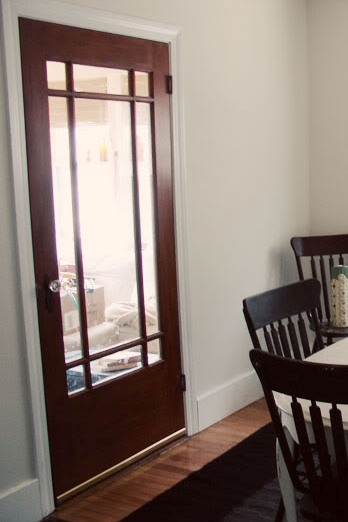 Stained Door With Painted Trim Anyone Have This