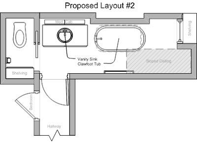 "Of course proposed layout #2 would also require a change to the ""east"