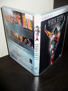Michael Jackson's THIS IS IT Two-Disc Special Edition Polish Edition case box pudełko
