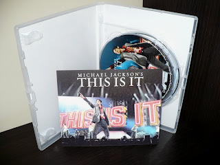 Michael Jackson's THIS IS IT Two-Disc Special Edition Polish Edition vip ticket bilet przepustka