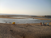 A praia do meu tédio...