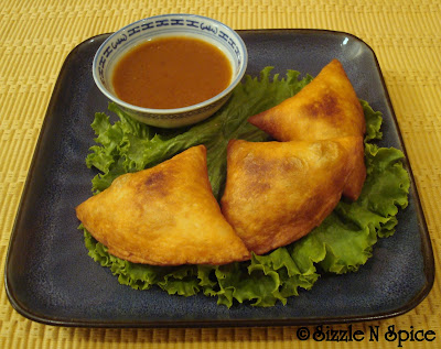 Sizzle N Spice: Tortilla Samosas