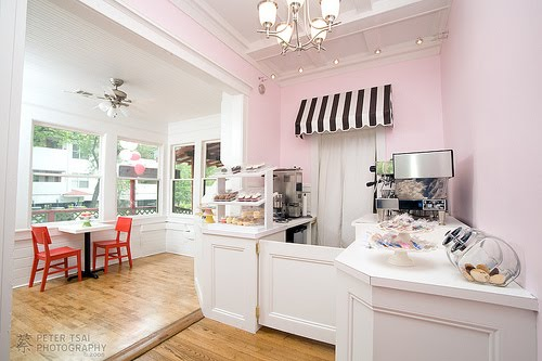 The Striped Canopy Above The Door And The Colour Scheme Is Something I  Would Like To Incoporate Into The 1950s Style Kitchen.