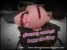 giveway contest b'day blog cik fa