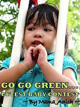 GO GO GREEN CUTEST BABY CONTEST BY MAMA_AQISH
