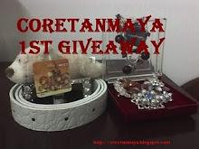 CoretanMaya 1st Giveaway