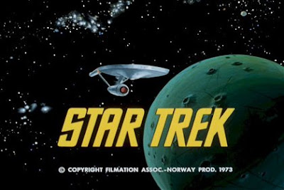 The original Star Trek's opening title card.
