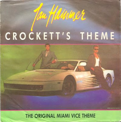 It's the original cover of the 'Crockett's Theme' single, pal!
