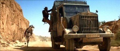 Now this is how you do an Indiana Jones chase sequence. No lousy CGI at all.
