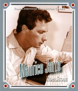 Maurice Jarre's Film Score Monthly Composer Collector Card