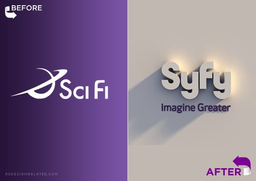 SciFi rebranded itself as the lamely respelled SyFy. What an EhPikFail.