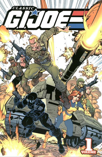 Classic G.I. Joe Volume 1 cover by J. Scott Campbell