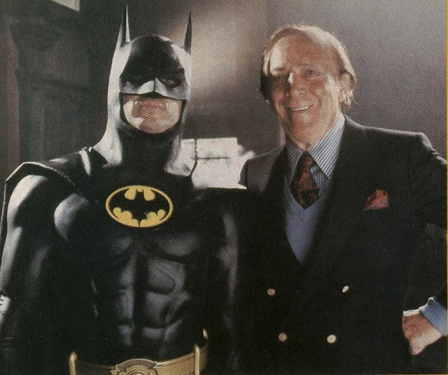 Stiff-Necked Crimefighting Action Batman and Bob Kane