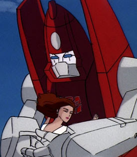 Somewhere, Powerglide's Autobot girlfriend Moonracer is fuming.