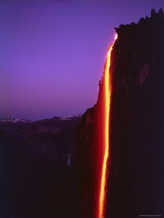 Yosemite Firefall Bunthorne S Person Place Or Thing
