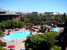 Disneyland Grand Californian Hotel Pool