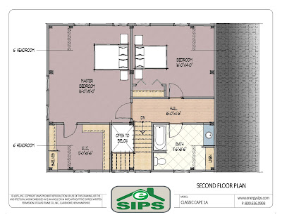 Sip home plans floor plans for Sip floor plans
