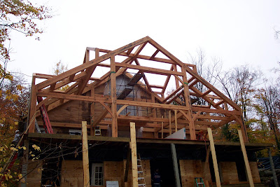 NH timber frame addition