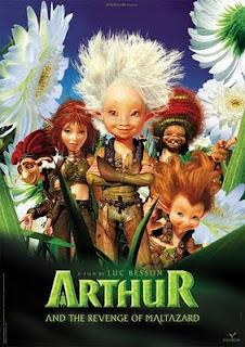 Poster de Arthur y la venganza de Maltazard