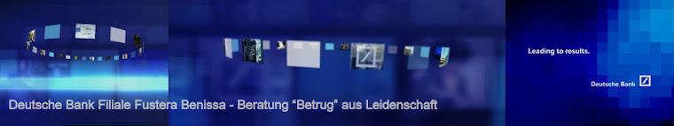 Deutsche Bank - Anlage Betrug