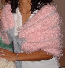 Capelet I needle knitted for my daughter on Christmas 2005
