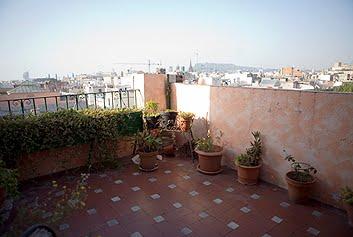 Montjuich terrace