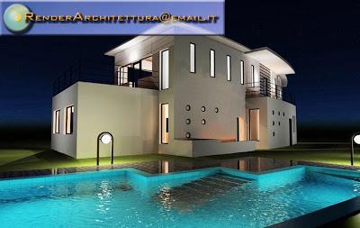 Render architettura illustrazioni 3d giugno 2008 for Architettura 3d