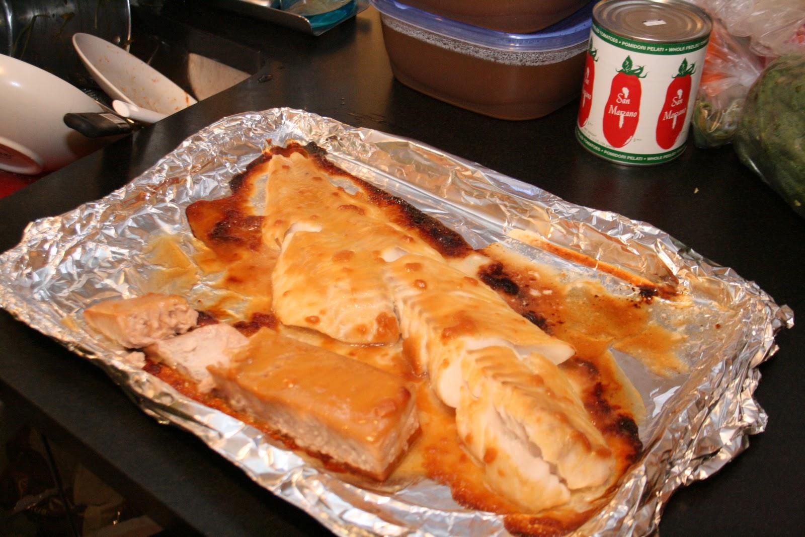 Miso glazed opah heaven for Opah fish recipes