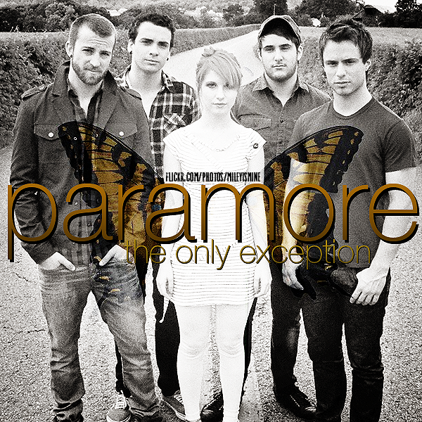 Coverlandia - The #1 Place for Album & Single Cover's ... Paramore The Only Exception
