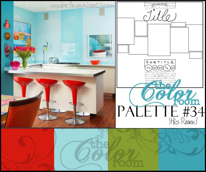 Patricias perspectives the color room palette 34 for Palette 34
