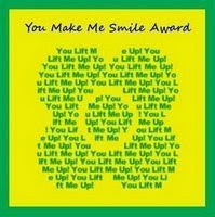 You Make Me Smile Award Number 2