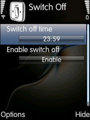 Switch Off for Nokia S60 3rd edition