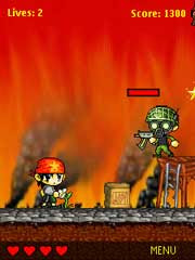 Eco Warrior is a free Flash Lite Game for Nokia S60