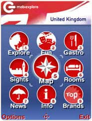 mobiEXPLORE UK is a multimedia travel guide for mobile phones and devices.