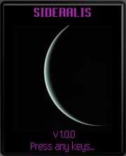 Sideralis for Java phones