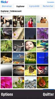 iFlickr Widget For Nokia N97 And 5800 XpressMusic