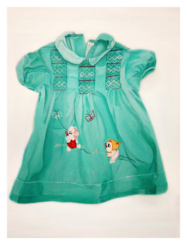 blue childhood drees 1