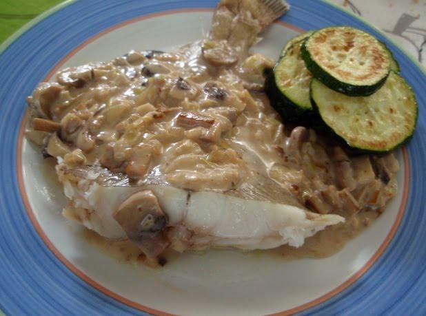 Gallo o lenguadina al microondas con salsa de setas for Cocina al microondas