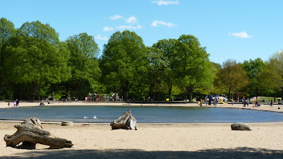 Stadtpark, Hamburg, Spielplatz, Kinderspielplatz