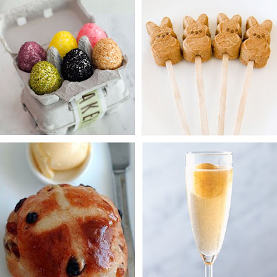 Clockwise: Rice Krispie Easter Eggs from Bouchon Bakery , Chocolate ...