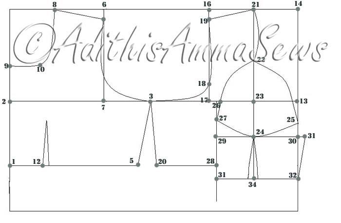 Katori Blouse Pattern 108