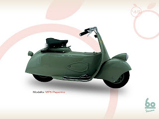 vespa MP5 paperino