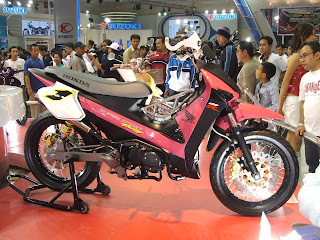 honda super sport racing show wallpaper