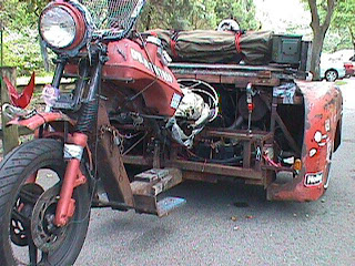 Funny Photo : strange motor cycle pic